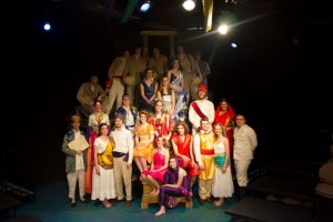 A Midsummer Night's Dream directed by Dr. David Kuhns