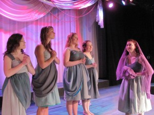 Nausicaa and her maids at play