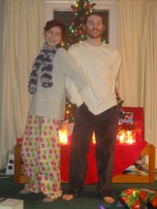 Christmas pajamas are a thing!