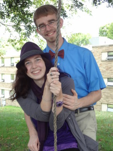 There was a tree swing outside Logan's house his Senior year. I loved it.