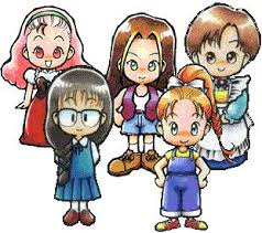harvest moon girls
